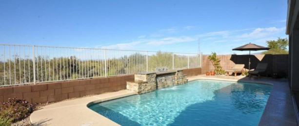Pool and Desert View Scottsdale